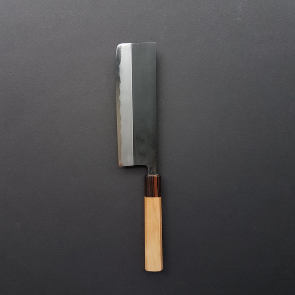 Hitohira Kikuchiyo Kyuzo White #2 Kurouchi Nakiri 180mm Cherry Wood Handle