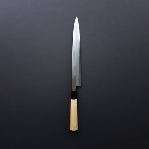 Hitohira Togashi White #2 Yanagiba 270mm Ho Wood Handle (Saya)