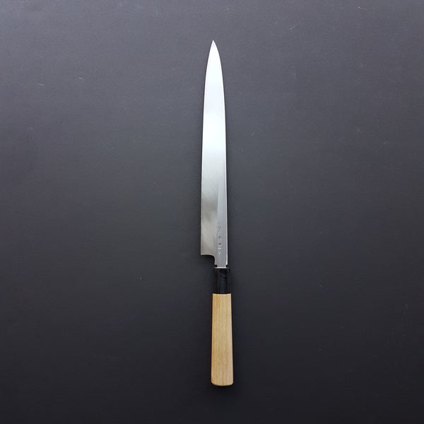 Hitohira Togashi White #2 Yanagiba 300mm Ho Wood Handle (Saya)