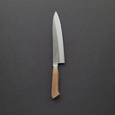 Tadafusa Nashiji Blue #2 Gyuto 210mm Walnut Handle