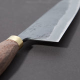 Daitoku Blue #2 Kurouchi Gyuto 180mm Walnut Handle | Tosho Knife Arts