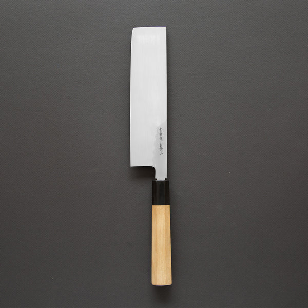 Nenohi Hon-Kasumi White Usuba 210mm Ho Wood Handle | Tosho Knife Arts