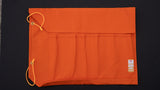 HI-CONDITION Hanpu Canvas 6 Pockets Knife Roll Orange