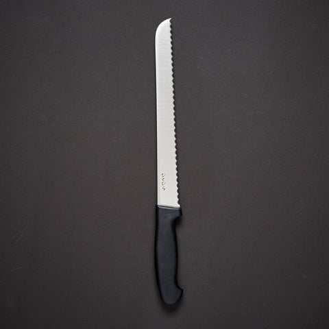 Hitohira Hiragana Bread Knife 250mm Plastic Handle
