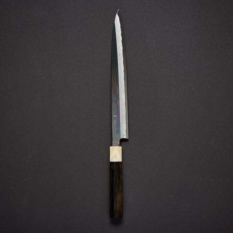 Hitohira Kikuchiyo Enmon White #1 Yanagiba 300mm Ebony Handle (with Saya)