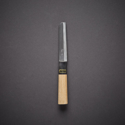 Morihei Munetsugu White #2 Nagoya-Saki 100mm Ho Wood Handle (Fine Finish)