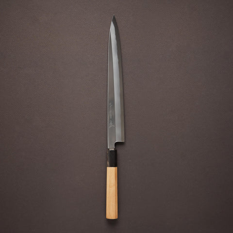 Nenohi Hon-Kasumi White Yanagiba 270mm Ho Wood Handle