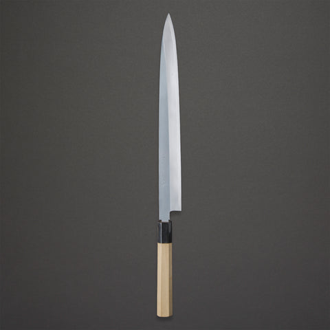 Nenohi Hon-Kasumi White Yanagiba 330mm Ho Wood Handle | Tosho Knife Arts
