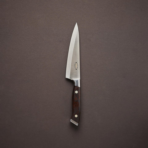 Nenox IW Left Handed Honesuki Kaku 150mm Ironwood Handle