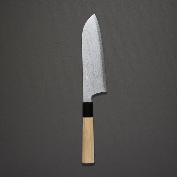 Nenohi Damascus Santoku 195mm Ho Wood Handle