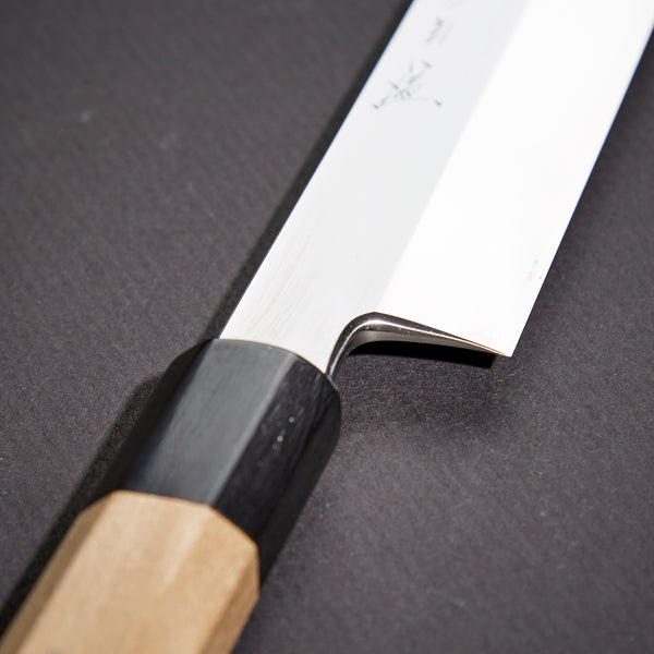 Nenohi Honyaki White Yanagiba 330mm Ho Wood Handle (Mirror Polished)