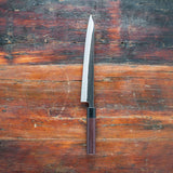 Ohishi Stainless Cladded Blue #2<br>240mm Sujihiki