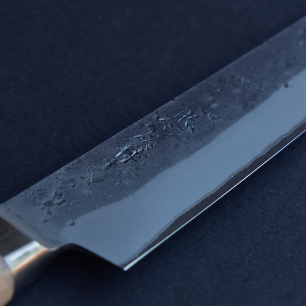 Tadafusa Nashiji Blue #2 Sujihiki 240mm Walnut Handle
