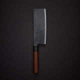Takeda NAS Nakiri 180mm Rosewood Handle (Large)