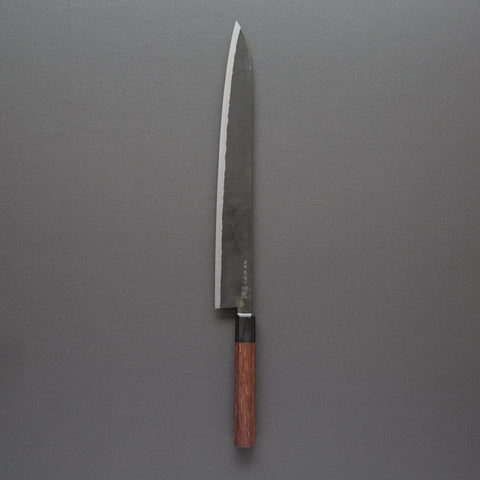 Takeda NAS Yanagiba 300mm Rosewood Handle (Special Large) | Tosho Knife Arts