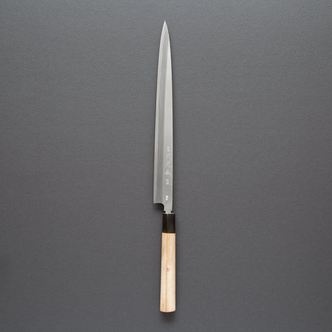 Hisamoto High Carbon Steel<br>270mm Left-Handed Fugubiki