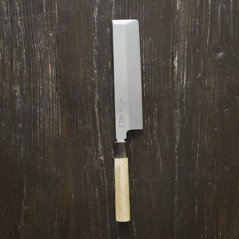 Masamoto White Usuba 210mm Ho Wood Handle | Tosho Knife Arts