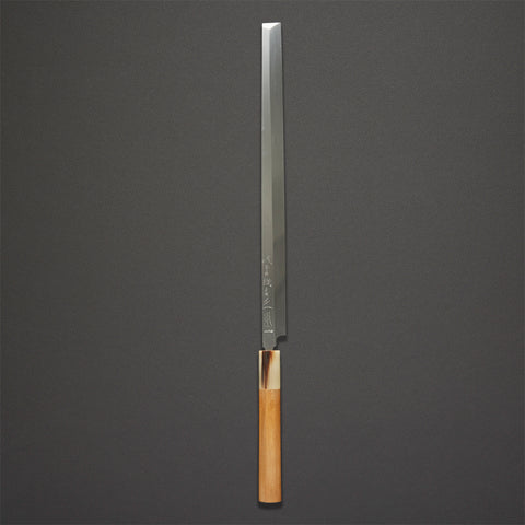 Masamoto Honyaki White Takobiki 300mm Ho Wood Handle (#5)