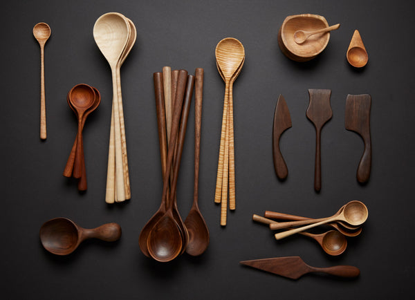 JM Wood Design Serving Spoon