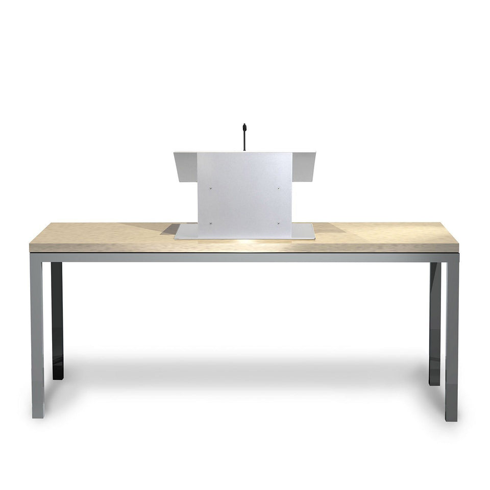 K8 Tabletop lectern / podium from Urbann Products with table