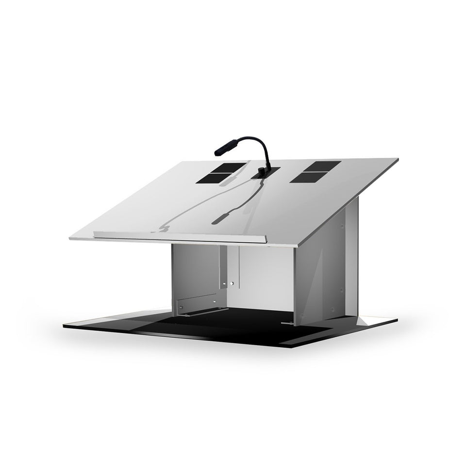K8 Tabletop lectern / podium from Urbann Products rear view