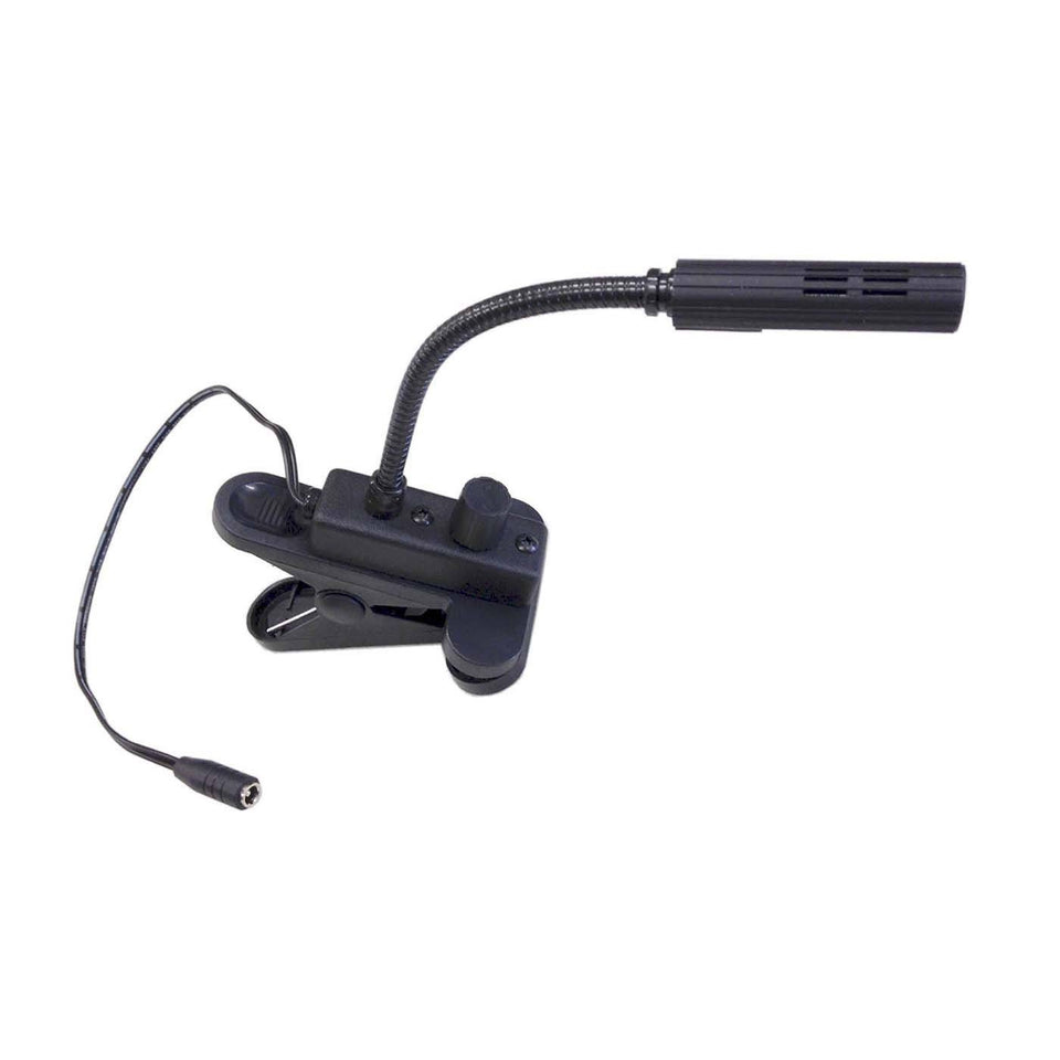 LED reading light with clip