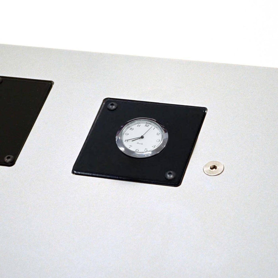 Clock module for lectern / podium by Urbann - side view