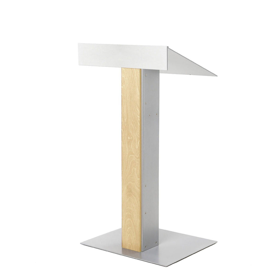 Y55 lectern / podium from Urbann Products - Natural - side view