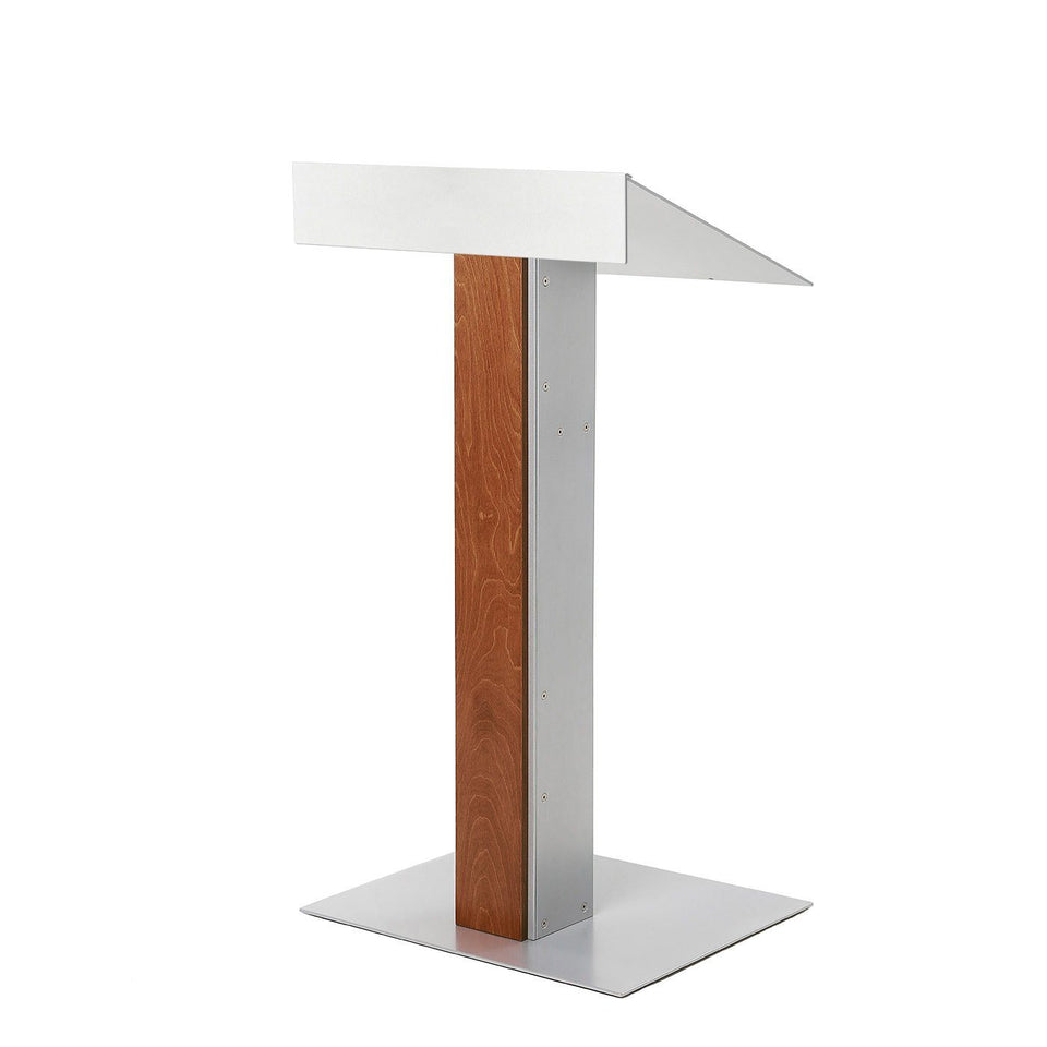 Y55 lectern / podium from Urbann Products - Whisky - side view