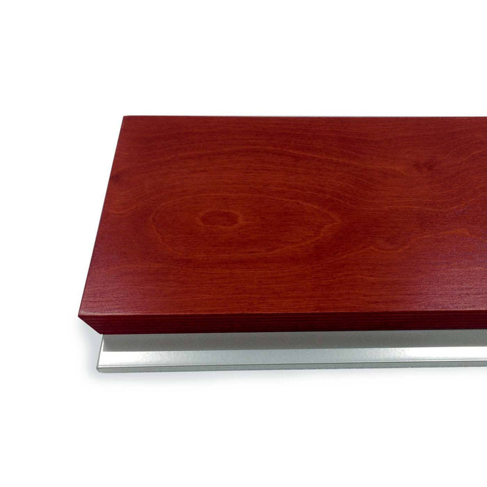 Y55 lectern / podium from Urbann Products - Mahogany - detail