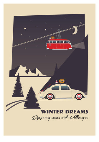 Winter Dreams Print