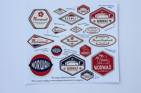 Vintage Collection Sticker Pack