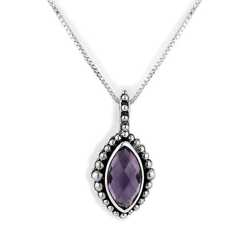 Lori Bonn Secret Admirer February Birthstone Necklace