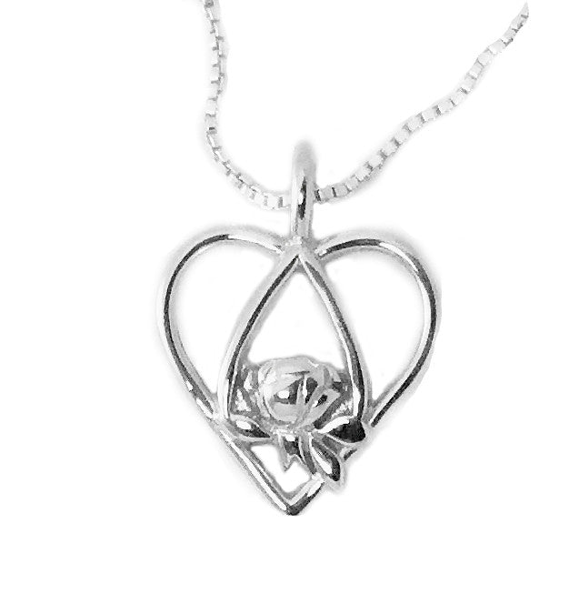 Memorial tear heart sterling pendant mommy bracelets memorial tear heart sterling pendant aloadofball Image collections