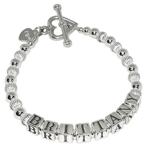 Sterling Silver Mommy Bracelet