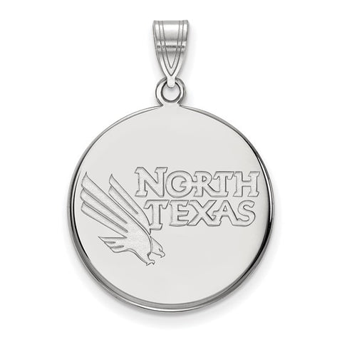 North Texas Mean Green Large Disc Pendant