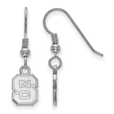 NC State Wolfpack XS Dangle Earring Wire