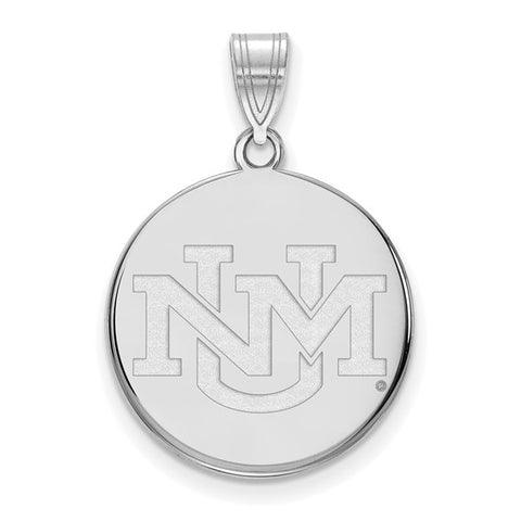 New Mexico Lobos Large Pendant
