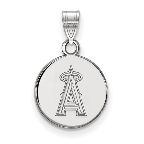 Los Angeles Angels Small Disc Pendant