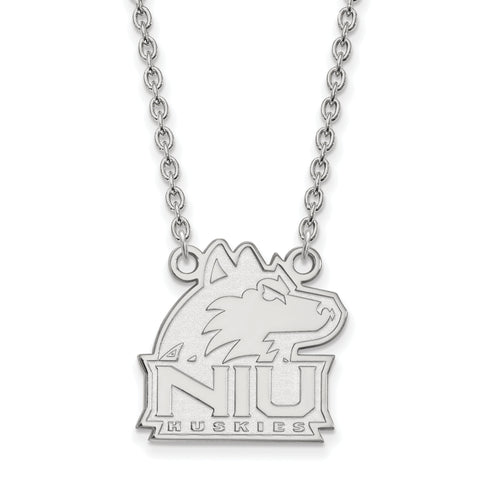 Northern Illinois Huskies Large Pendant w/ Necklace