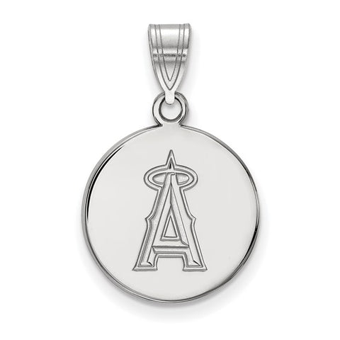 Los Angeles Angels Medium Disc Pendant