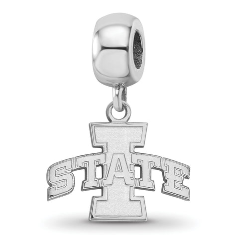 Iowa State Cyclones Bead Charm Small Dangle