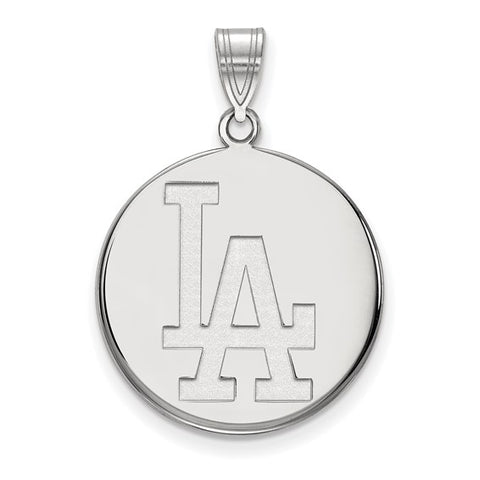 Los Angeles Dodgers Large Disc Pendant