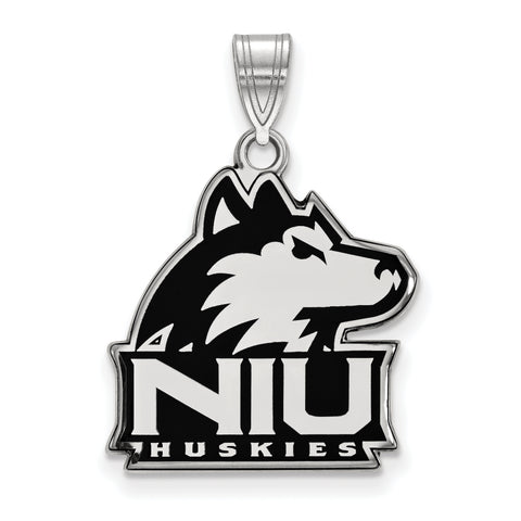 Northern Illinois Huskies Large Enamel Pendant