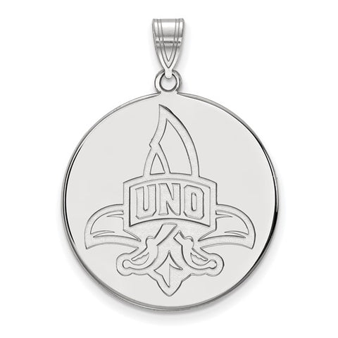 New Orleans Privateers XL Disc Pendant