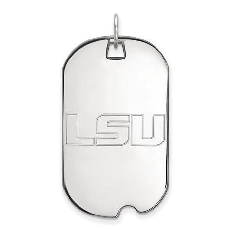 LSU Tigers Large Dog Tag