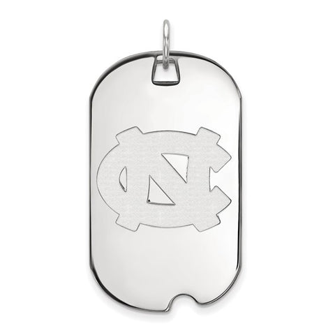 North Carolina Tar Heels Large Dog Tag