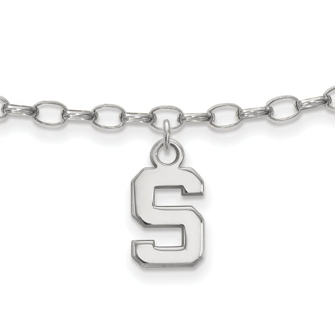 Michigan State Spartans Anklet