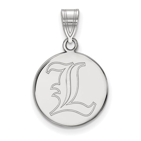 Louisville Cardinals Medium Disc Pendant