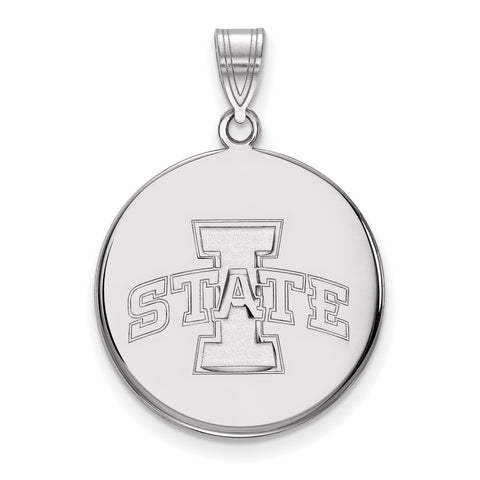 Iowa State Cyclones Large Disc Pendant